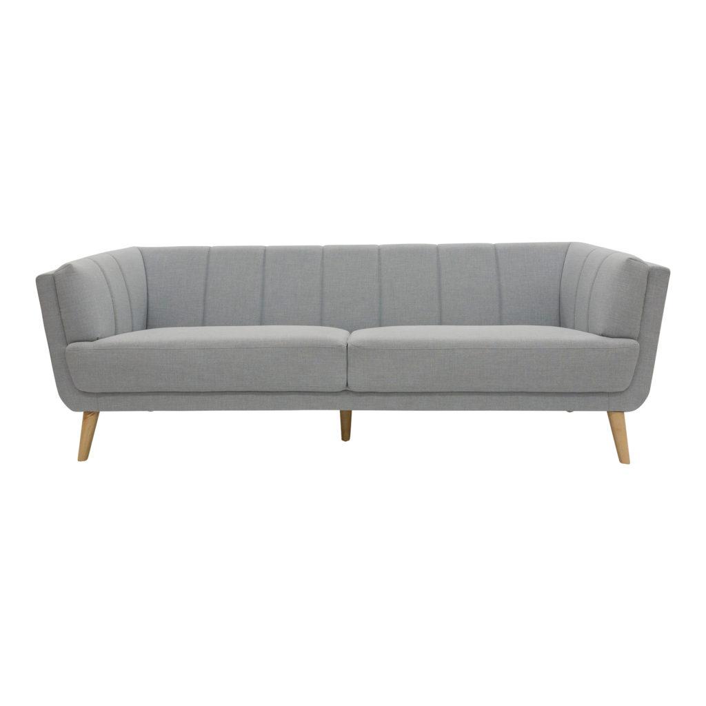 Allegra 3 Seat Sofa Sky_1 Front