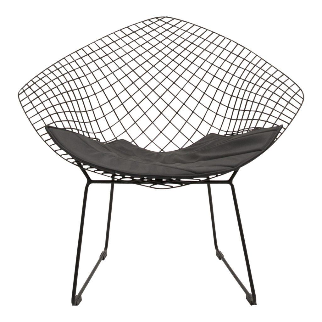 Bertoia Occasional Chair Black_01 Front_1