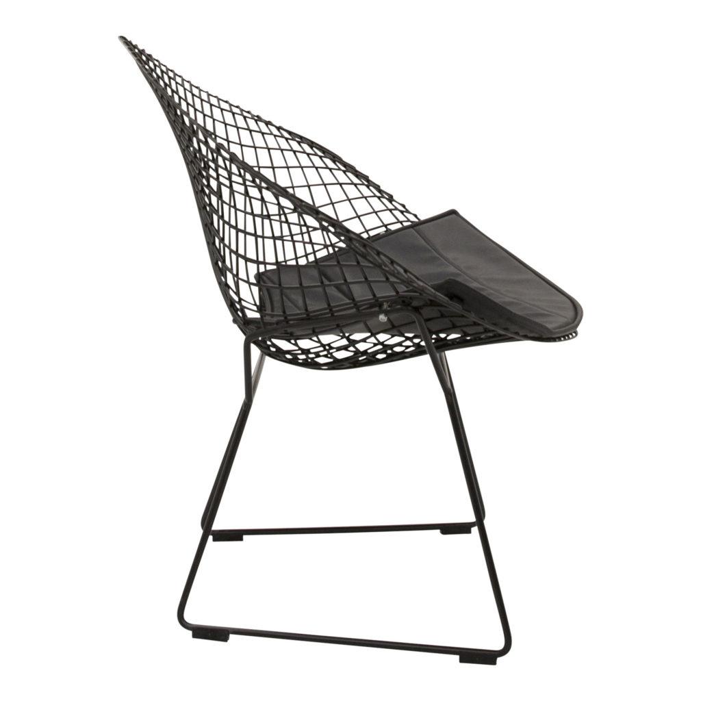 Bertoia Occasional Chair Black_02 Side_1