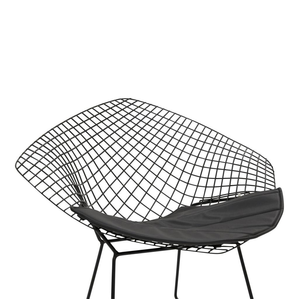 Bertoia Occasional Chair Black_No cushion_5 Detail_1