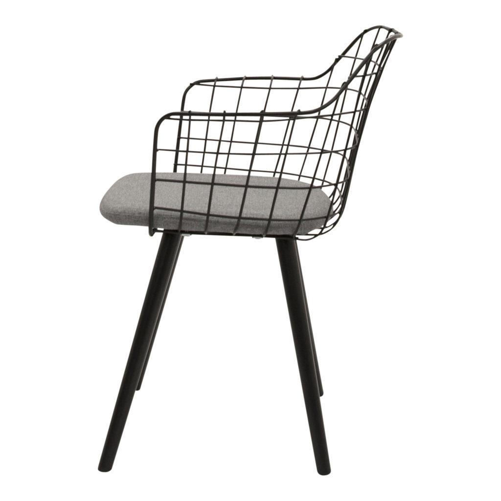 Loft Dining Chair Black_4 Side_1