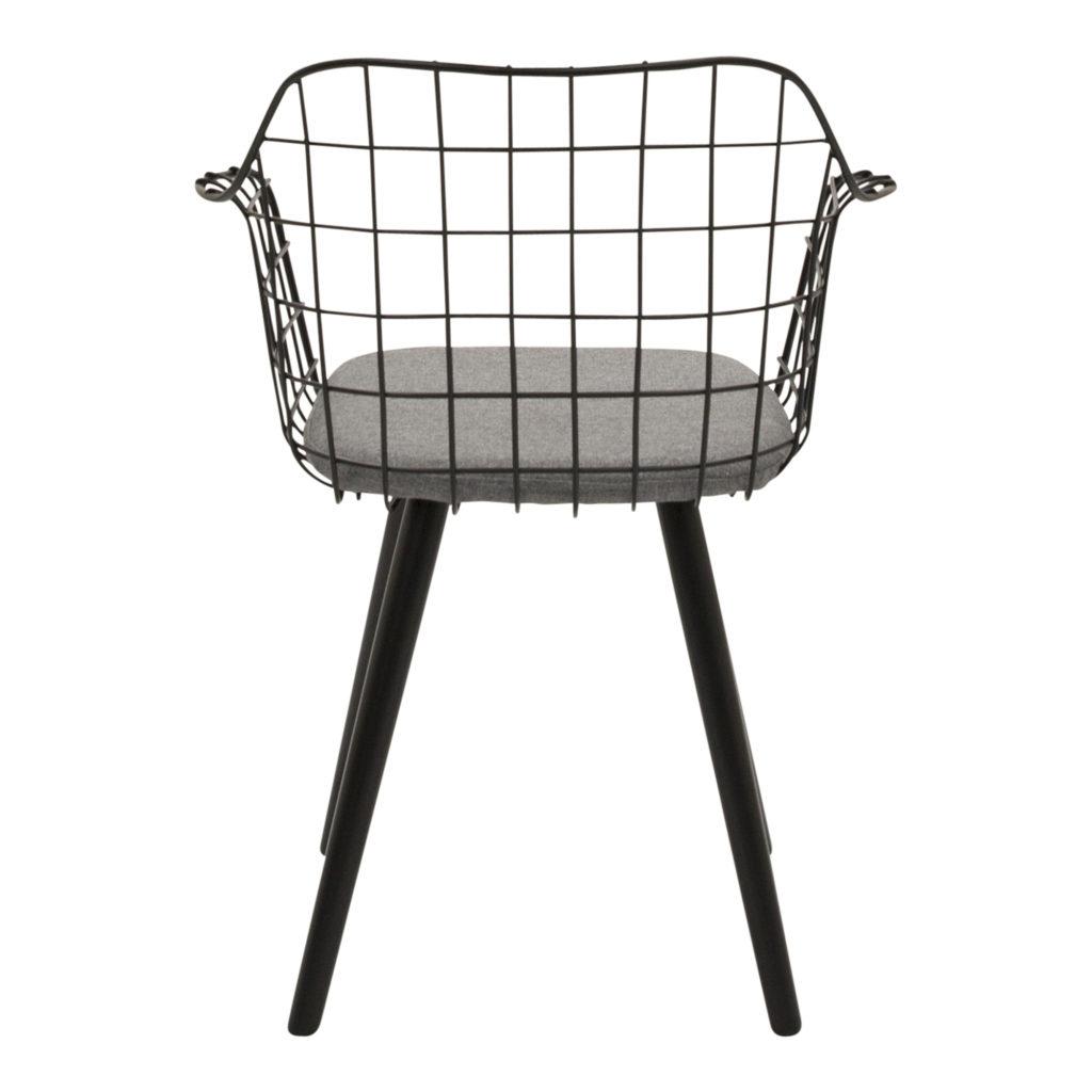 Loft Dining Chair Black_5 Back_1