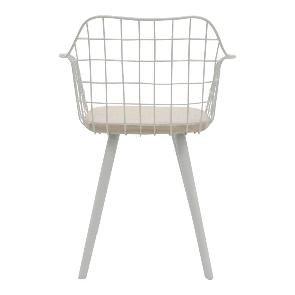 Loft Dining Chair White_5 Back_1