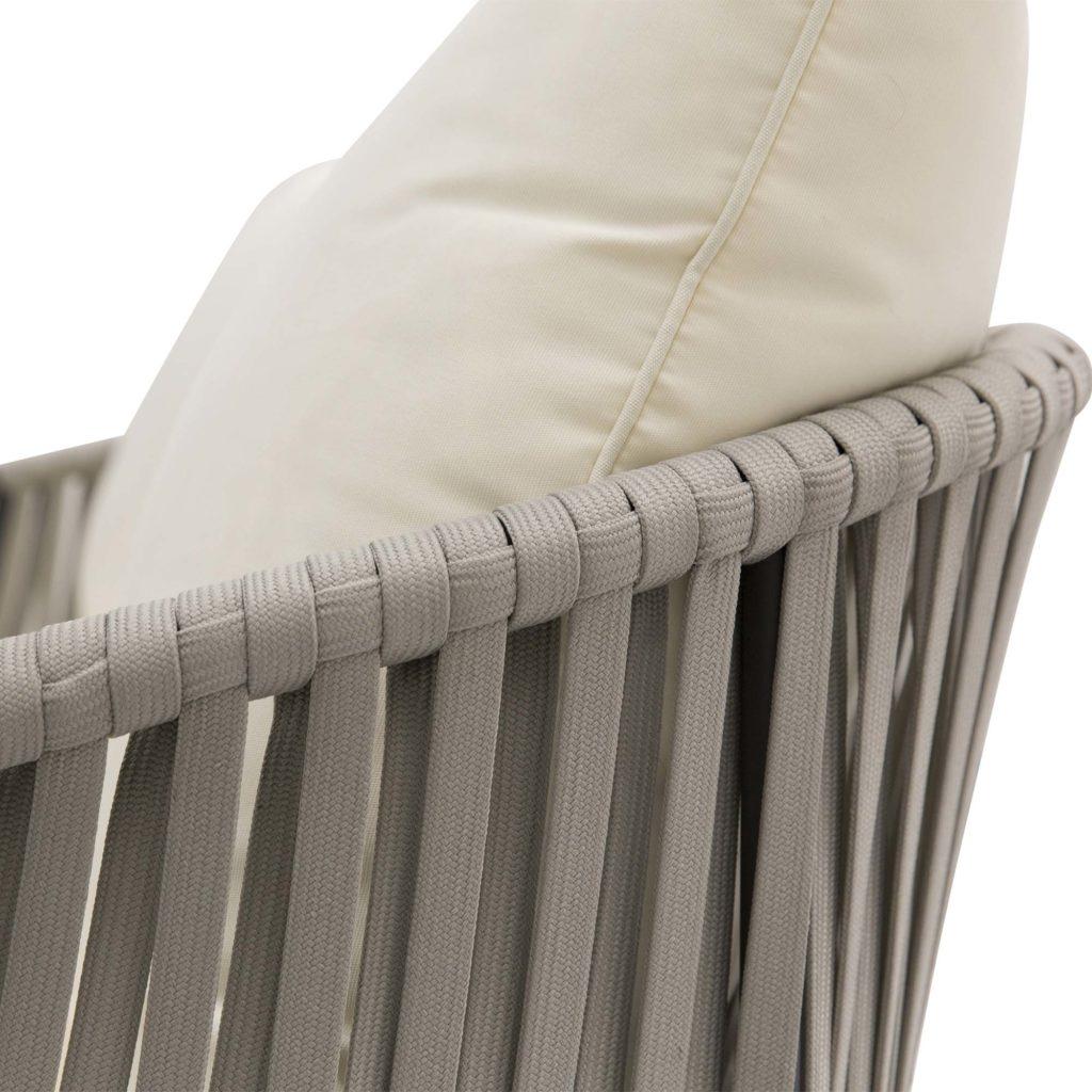 Anchor Outdoor Sofa White-Gunmetal_5 Detail