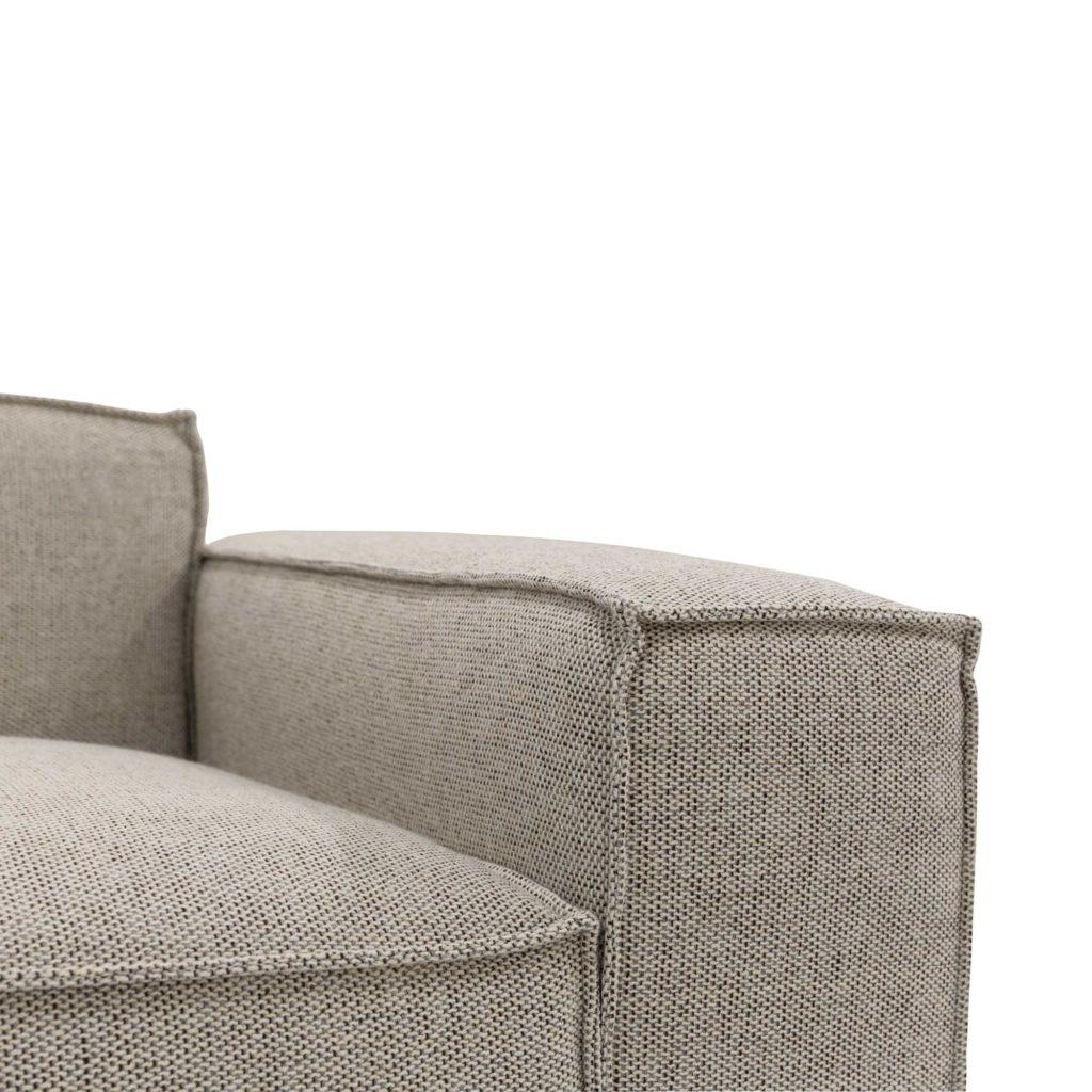 Atticus 3 Seat Sofa Pepper_5 Detail