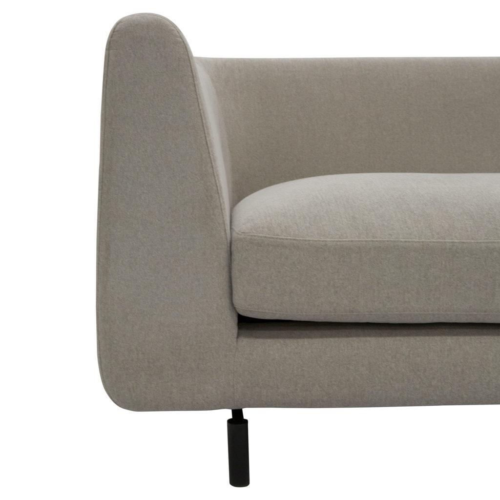 Harlow 3 Seat Sofa Cement No Cushion_4 Detail