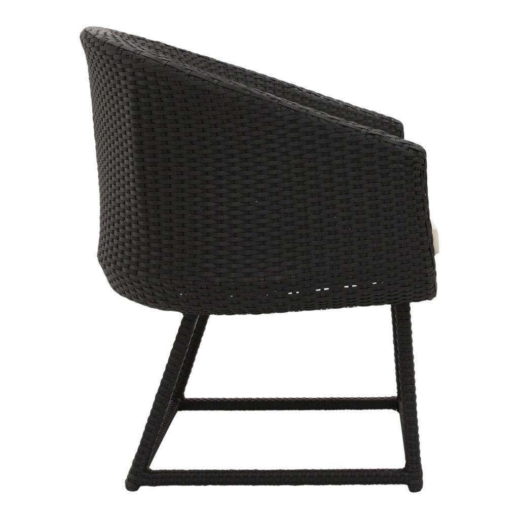 Jasper Armchair-Occasional Chair Black_2 Side