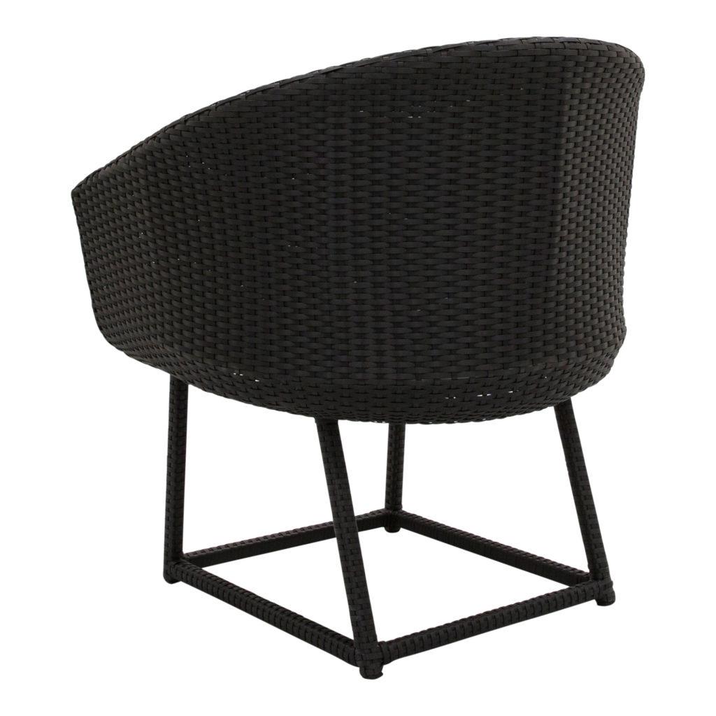 Jasper Armchair-Occasional Chair Black_4 Back Angle