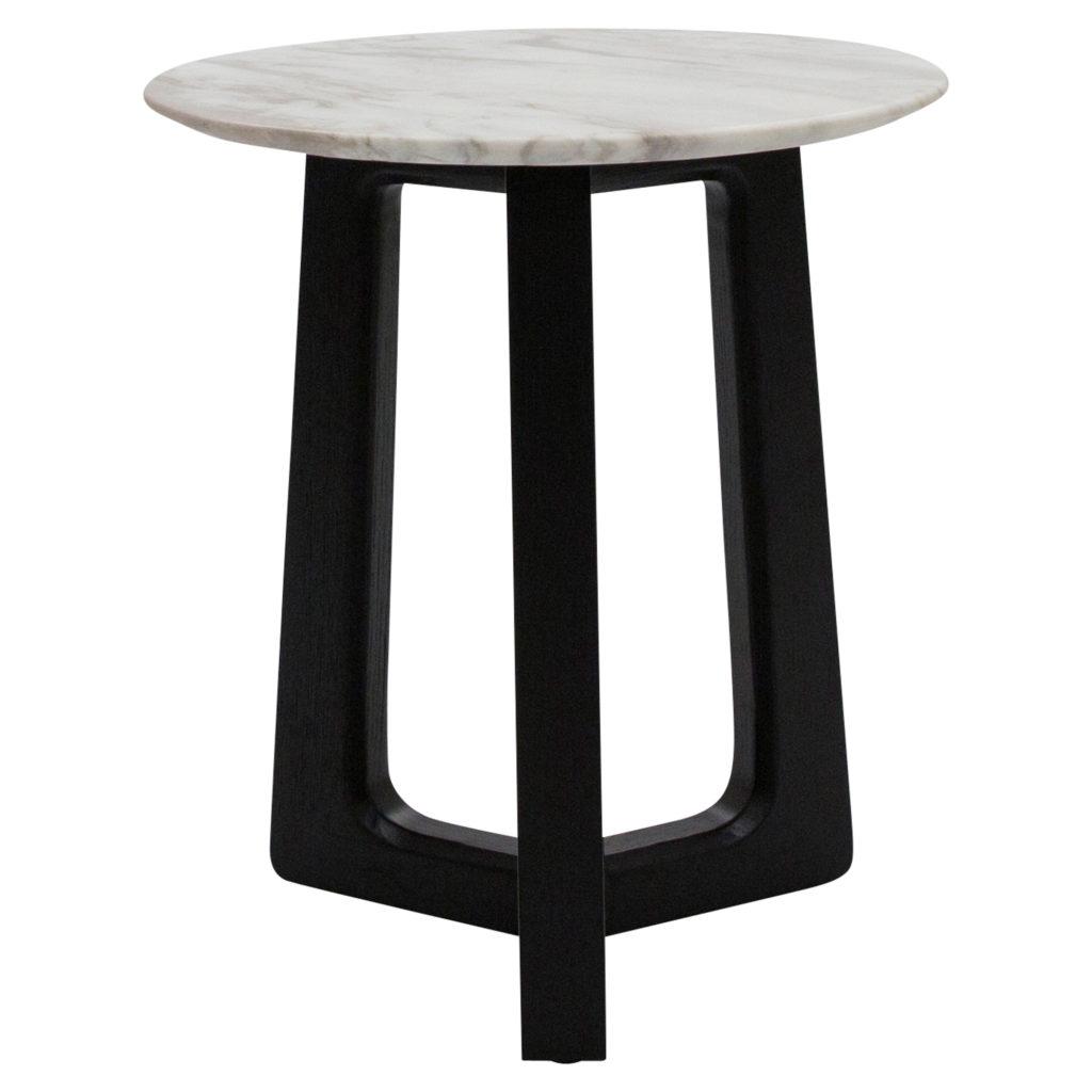 Nest Side Table_Large Black White