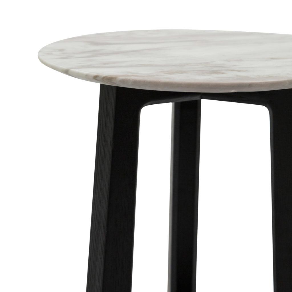 Nest Side Table_Large Black White_2 Detail