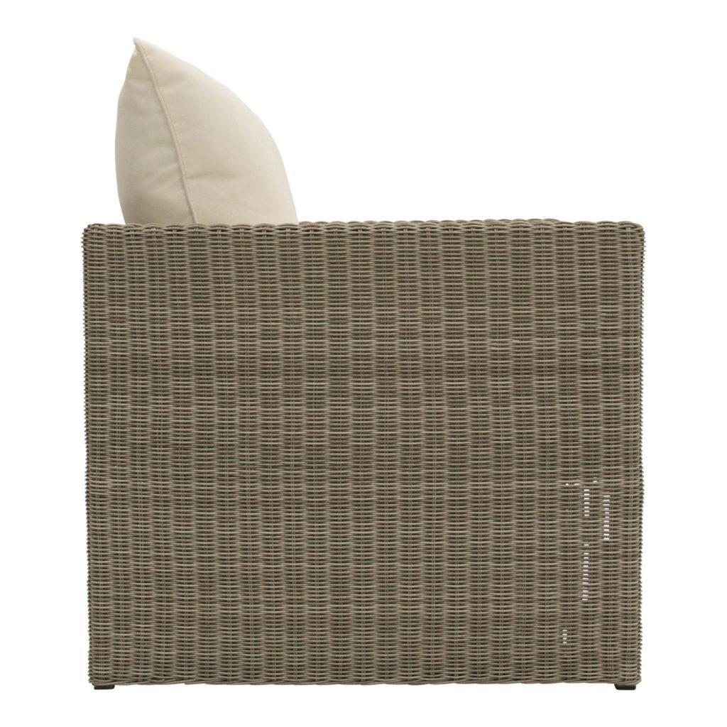 Tallow Outdoor Armchair Beige_2 Side