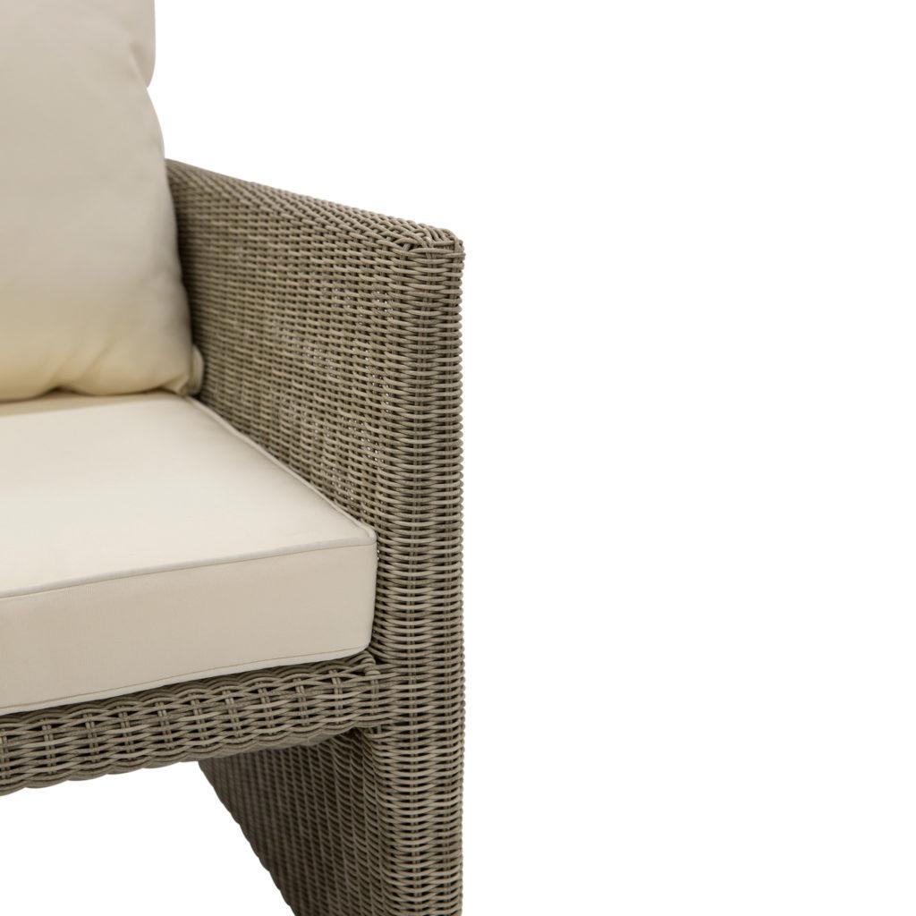Tallow Outdoor Armchair Beige_5 Detail
