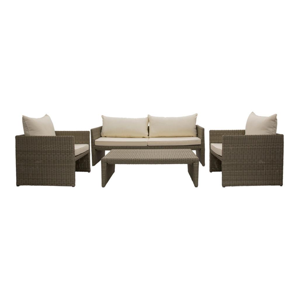 Tallow Outdoor Sofa Beige_Set