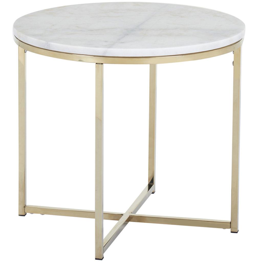 Siena Marble Side Table
