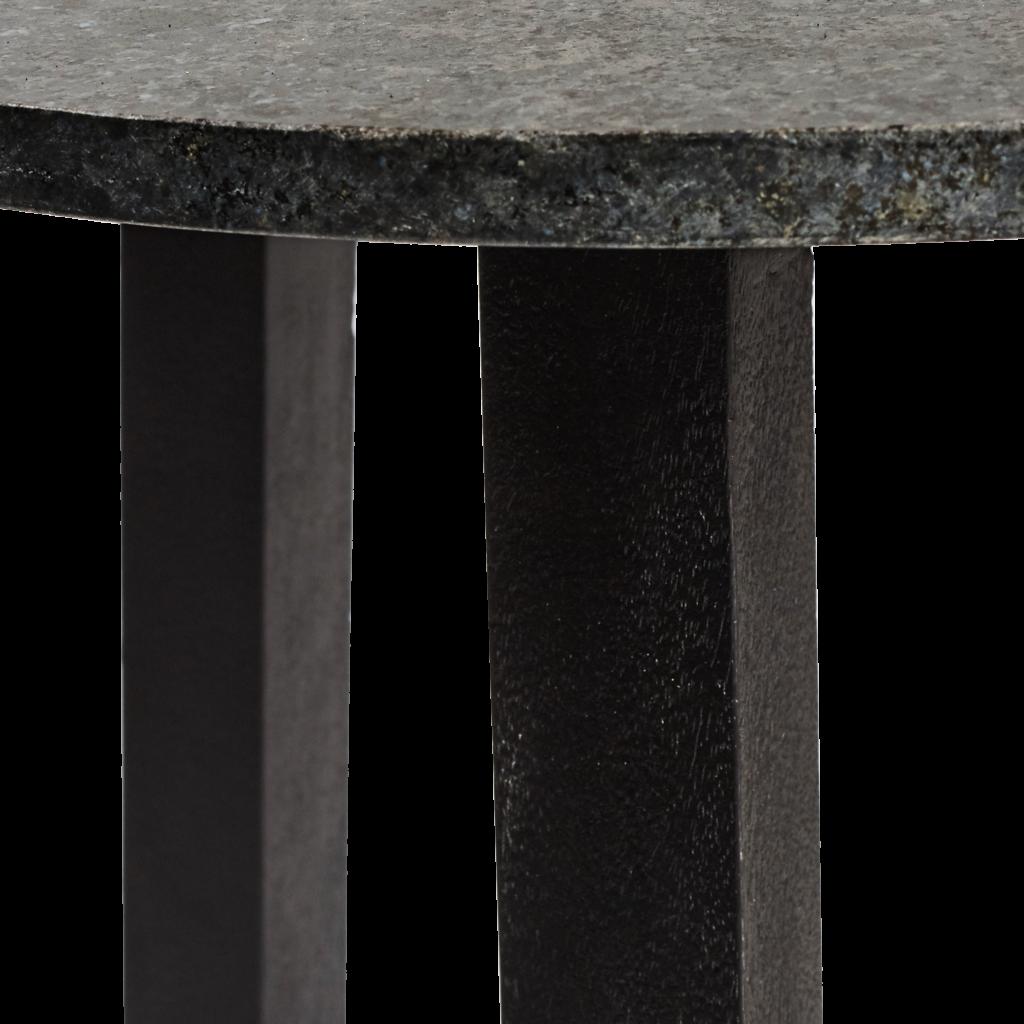 57-007 Regency Granite Side Table Detail 2