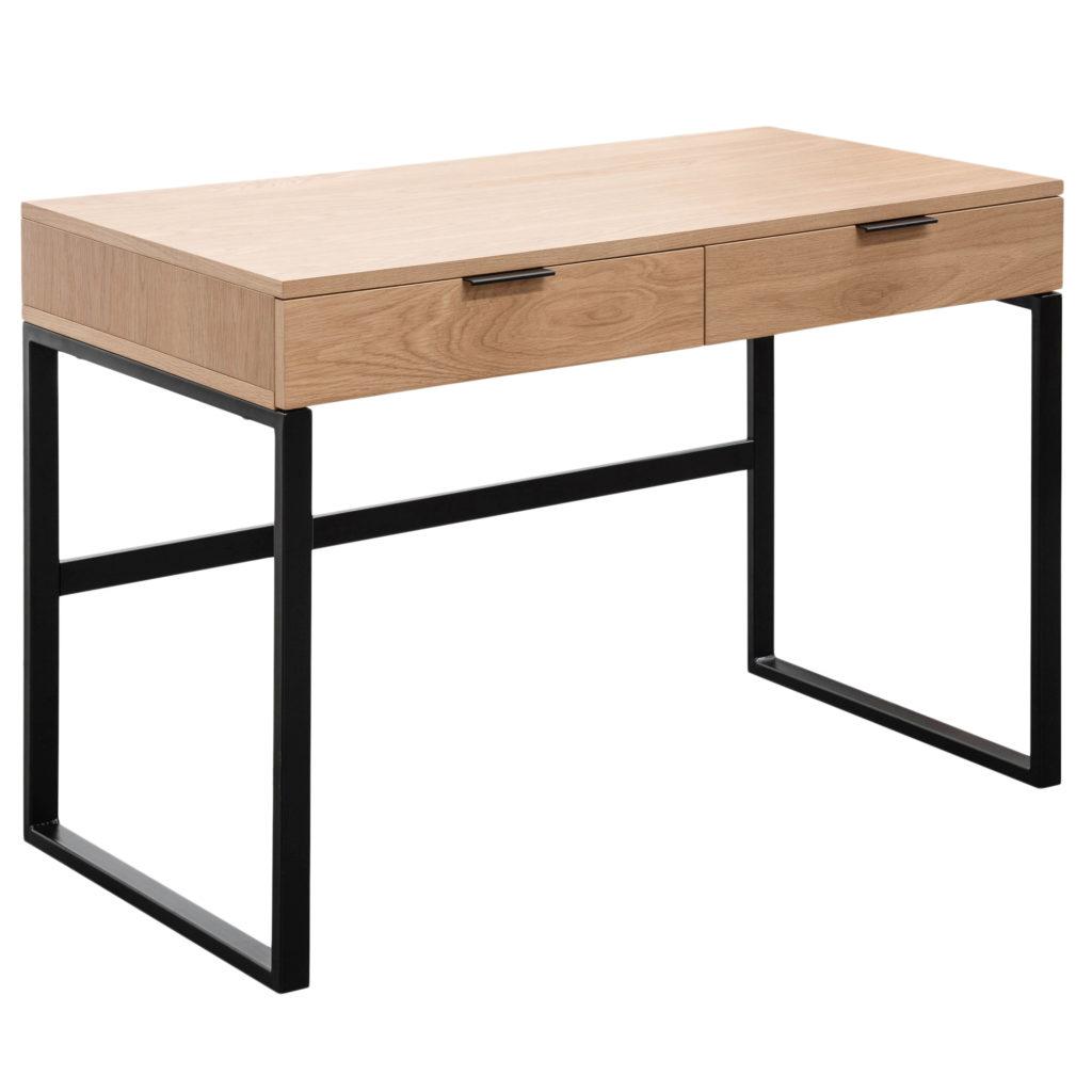 Natural++Black+Amaury+Desk